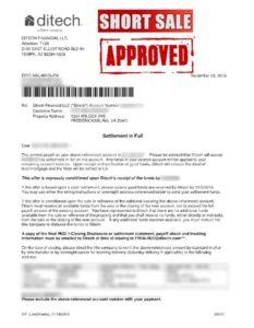 ditech-short-sale-approval