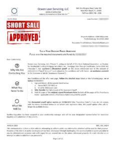 ocwen-fredericksburg-short-sale-approval